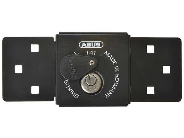 ABUS Mechanical 141/200 Diskus® Integral Van Lock Black & 26/70mm Diskus® Padlock ABU14126
