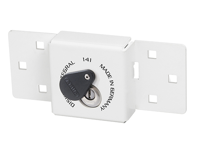ABUS Mechanical 141/200 Diskus® Integral Van Lock White & 26/70mm Diskus® Padlock ABU14126