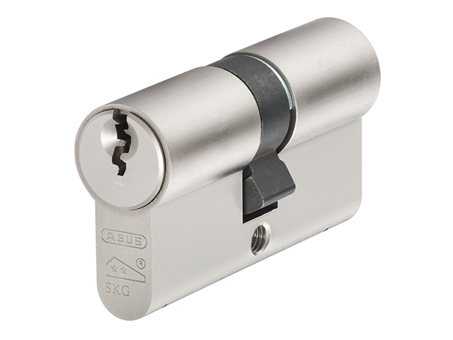 ABUS Mechanical E60NP Euro Double Cylinder Nickel Pearl 30mm / 50mm Box ABUE60N3050