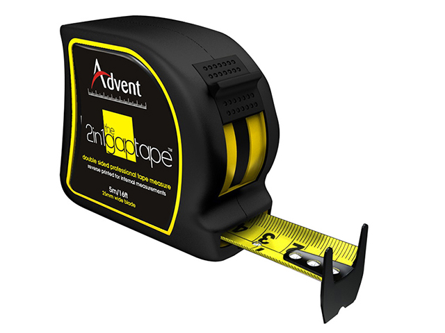 Advent 2-In-1 Double Sided Gap Pocket Tape 5m/16ft (Width 25mm) ADVAGT5025