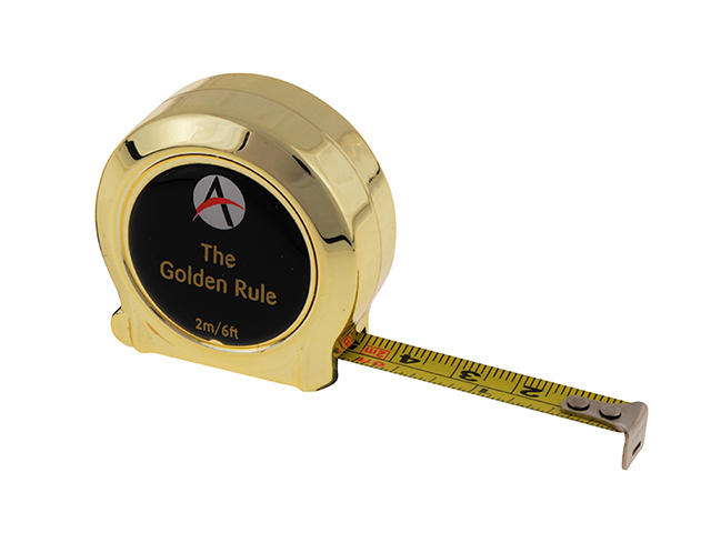 Advent Golden Rule Tape 2m/6ft (Width 10mm) ADVGR2ME