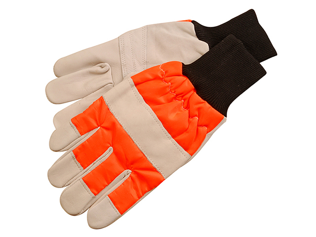 ALM Manufacturing CH015 Chainsaw Safety Gloves - Left Hand protection ALMCH015