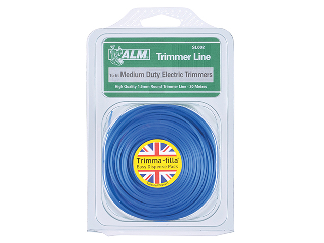 ALM Manufacturing SL002 Medium-Duty Trimmer Line 1.5mm x 30m ALMSL002