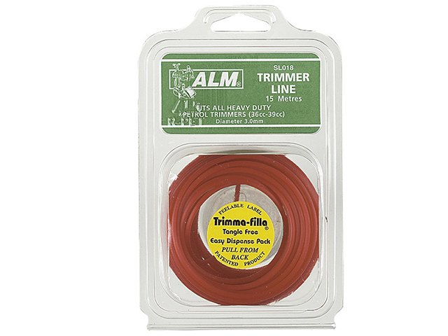 ALM Manufacturing SL016 Heavy-Duty Petrol Trimmer Line 3mm x 58m ALMSL016