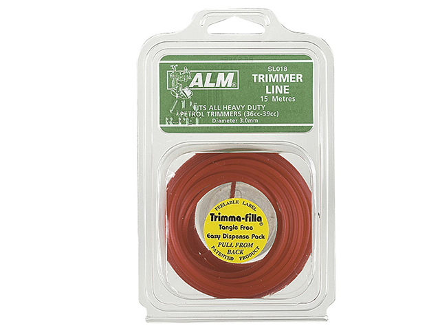 ALM Manufacturing SL018 Heavy-Duty Petrol Trimmer Line 3mm x 15m ALMSL018