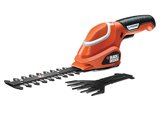 Black & Decker GSL700 Shear Shrubber Kit 7V 1 x 1.2Ah Li-ion B/DGSL700