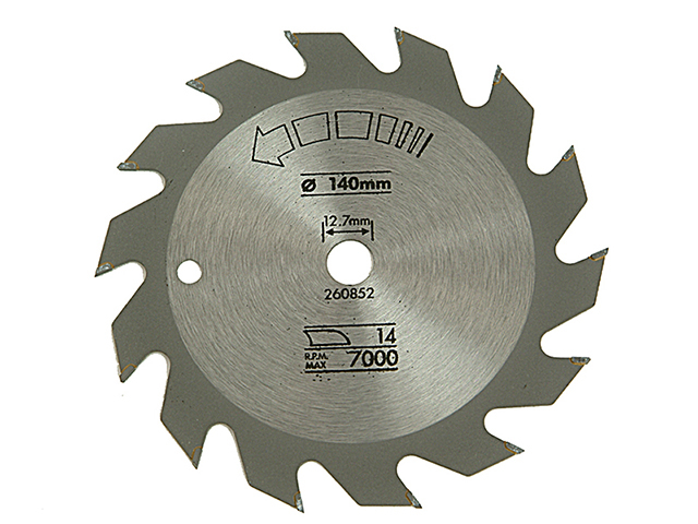 Black & Decker Circular Saw Blade 140 x 12.7mm x 14T Fast Rip B/DX13000
