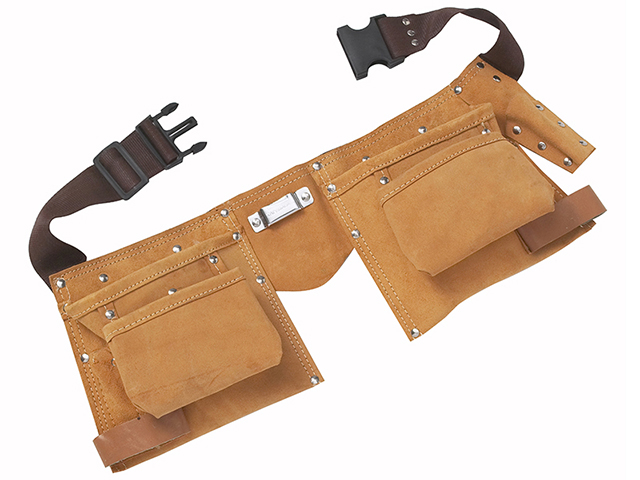 BlueSpot Tools Double Leather Tool Pouch - Regular B/S16332