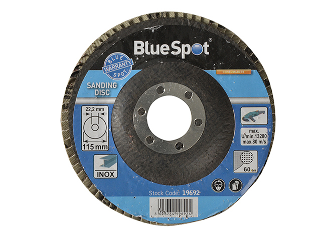 Sanding Flap Disc 115mm 60 Grit