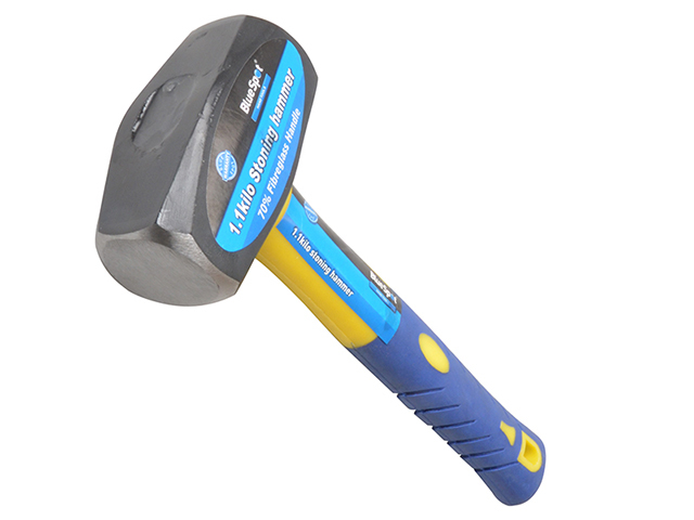 BlueSpot Tools Club Hammer Fibreglass Handle 1.13kg (2.1/2lb) B/S26200