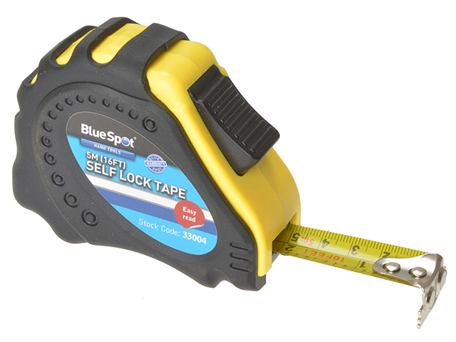 BlueSpot Tools Easy Read Magnetic Pocket Tape 5m/16ft (Width 17mm) B/S33004