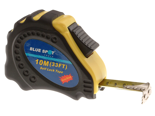BlueSpot Tools Easy Read Magnetic Pocket Tape 10m/33ft (Width 23mm) B/S33008