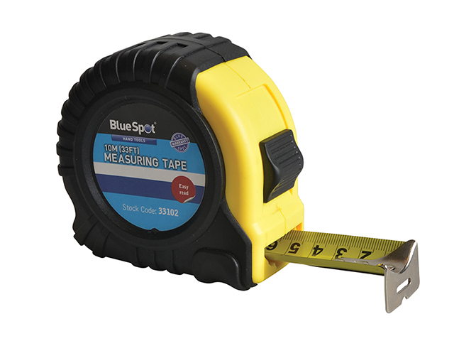 BlueSpot Tools Broad Buddy Pocket Tape 10m/33ft (Width 32mm) B/S33102