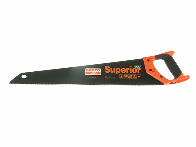 Bahco 2700-22-XT-HP Superior Handsaw 550mm (22in) 7tpi BAH270022XT