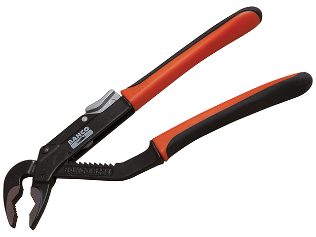 Bahco 8223 Slip Joint Pliers ERGO Handle 200mm - 37mm Capacity BAH8223
