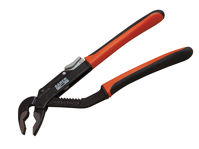 Bahco 8224 Slip Joint Pliers ERGO Handle 250mm - 45mm Capacity BAH8224