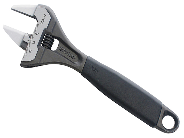 9031T ERGO<sup>(TM)</sup> Slim Jaw Adjustable Wrench 200mm (8in)