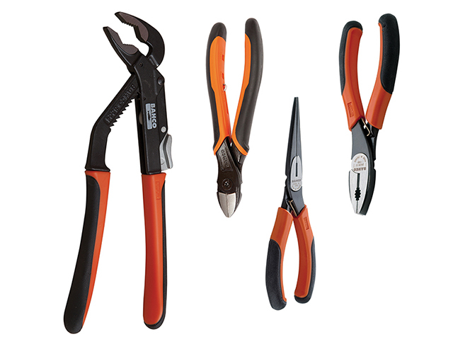 Bahco 9897 Plier Set, 4 Piece BAH9897