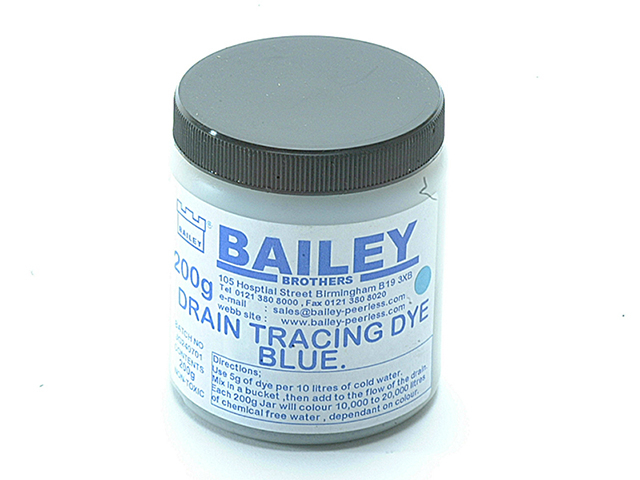 Bailey 1992 Drain Tracing Dye - Blue BAI1992
