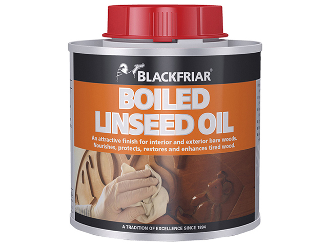 Blackfriar Boiled Linseed Oil 250ml BKFBLO250