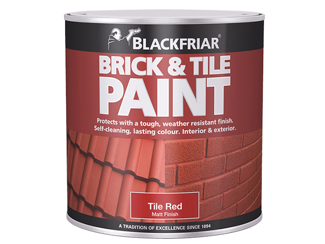 Blackfriar Brick & Tile Paint Matt Red 250ml BKFBTMR250