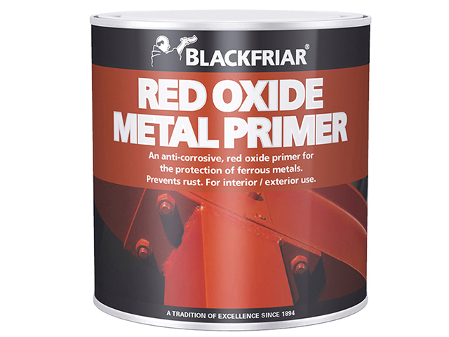 Blackfriar Red Oxide Metal Primer 500ml BKFMP500