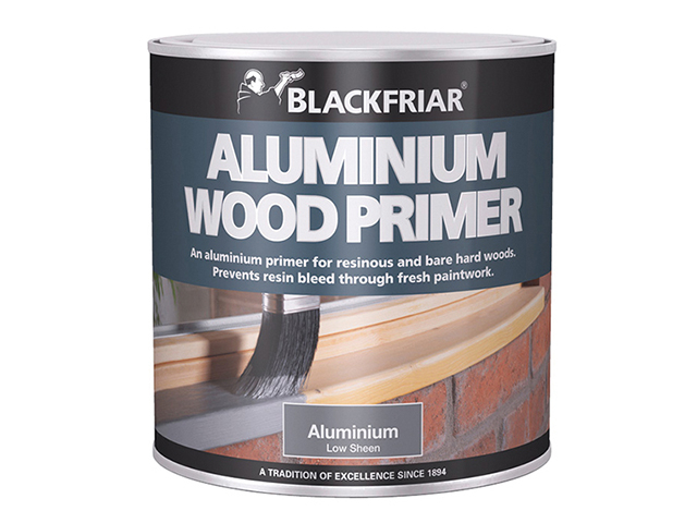Blackfriar Wood Primer Aluminium 500ml BKFWPA500