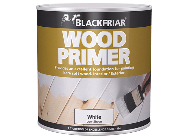 Blackfriar Wood Primer White 250ml BKFWPW250