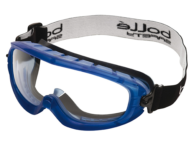 Bolle Safety Atom Safety Goggles Clear - Ventilated Foam Seal BOLATOFAPSI