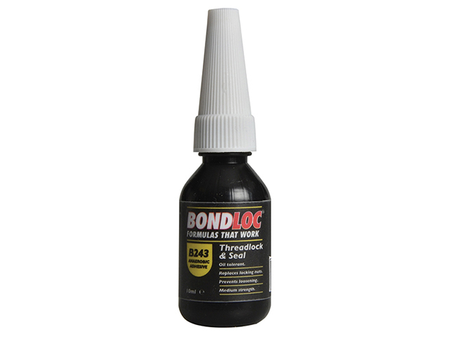 Bondloc B243 Nutlock Medium Strength Threadlocker 10ml BONB24310