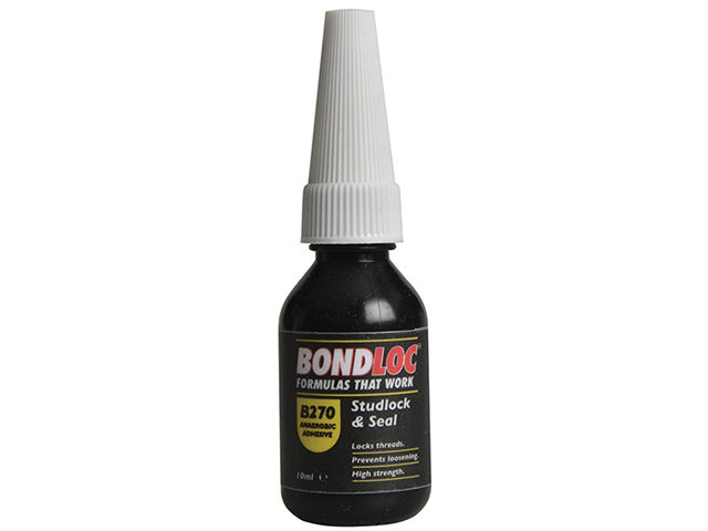 Bondloc B270 Studlock High Strength Threadlocker 10ml BONB27010