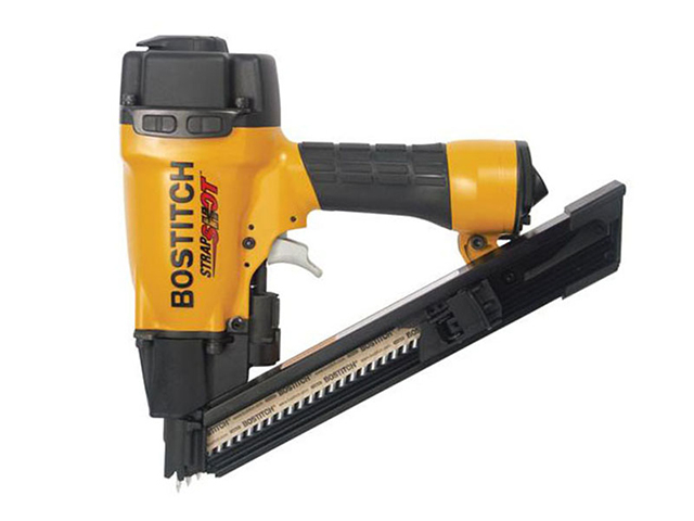 Bostitch MCN150-E Pneumatic Strap Shot Metal Connecting Nailer 38mm BOSMCN150E