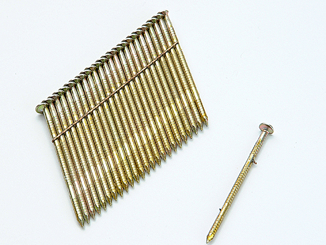 Bostitch 28° Galvanised Ring Shank Stick Nails 3.1 x 90mm Pack of 2000 BOSS310R90G8