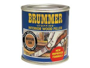 Brummer Interior Wood Filler Medium Oak 250g BRUINTNMO250