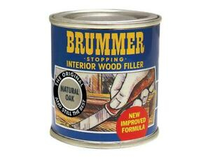 Brummer Interior Wood Filler Natural Oak 250g BRUINTNO250