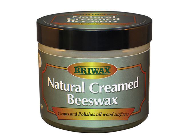 Briwax Natural Creamed Beeswax Clear 250ml BRWNCBW250CL