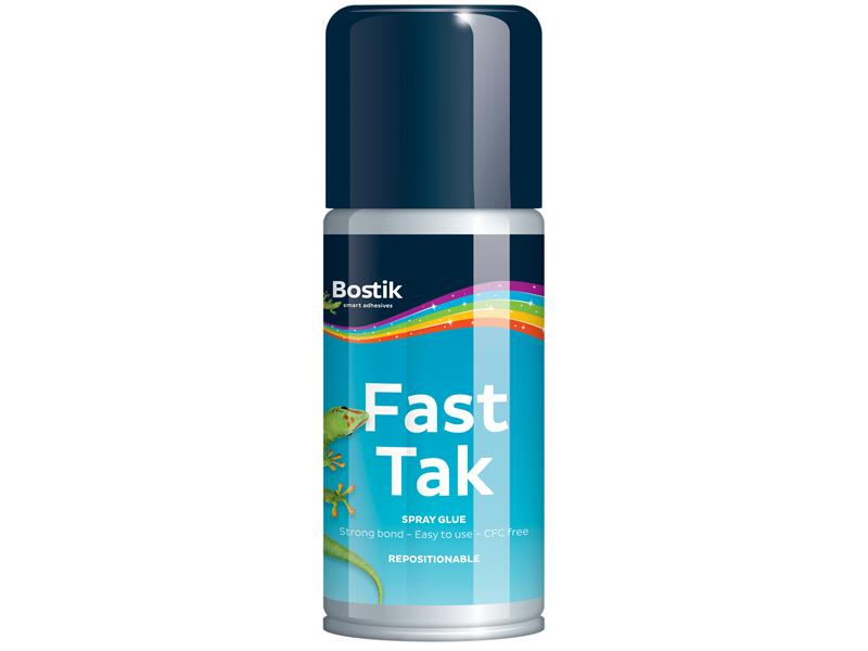 Bostik Fast Tak Repositionable Spray 150ml BST30813297
