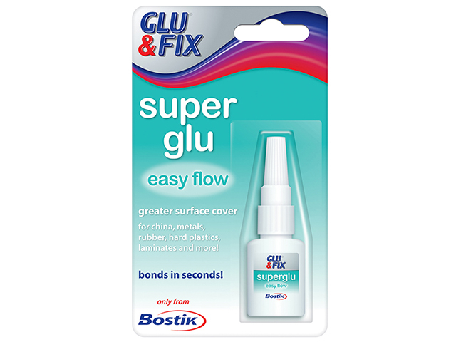 Bostik Super Glu Easy Flow Bottle 5g BST80608
