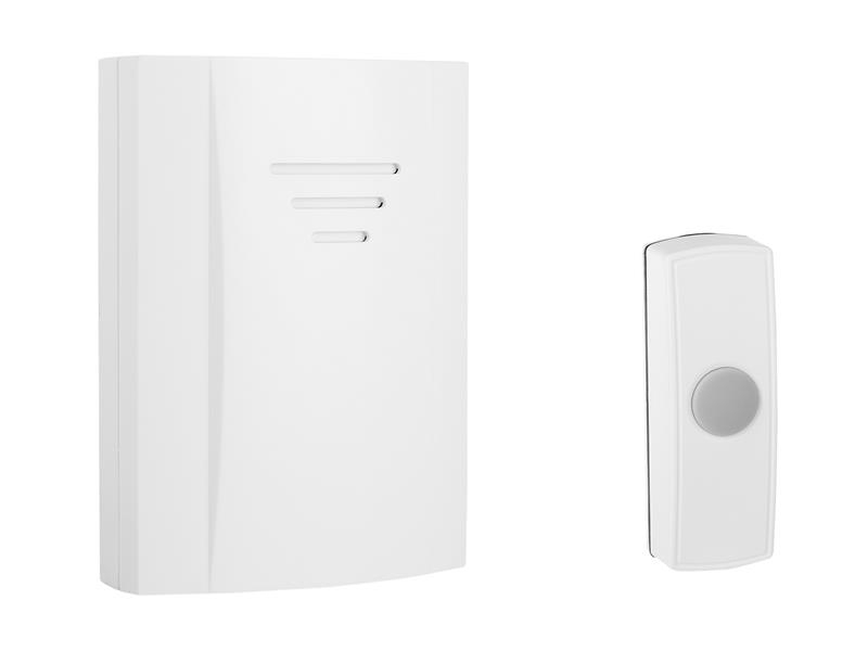 Byron B304 Wireless Doorbell with Portable Chime 50m BYRB304