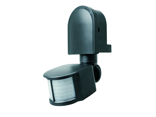 Byron ES90 PIR Area Light Black BYRES90