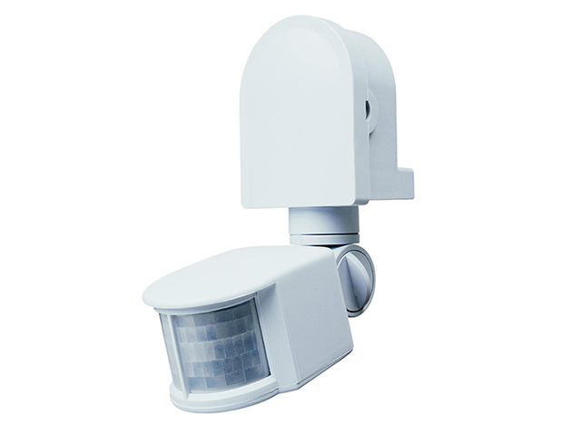 Byron ES90W PIR Area Light White BYRES90W