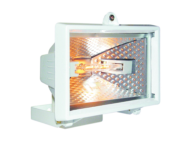 Byron HL400W Halogen Floodlight White 400 Watt BYRHL400W