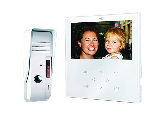 Byron VD71 Video Door Intercom Elegant Touch BYRVD71