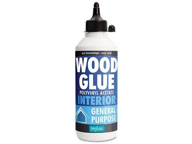 Polyvine Interior Wood Glue 125ml CASIWG125