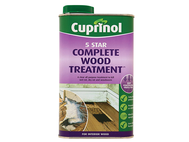 Cuprinol 5 Star Complete Wood Treatment 1 Litre CUP5ST1L