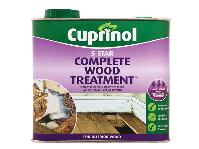 Cuprinol 5 Star Complete Wood Treatment 2.5 Litre CUP5ST25L