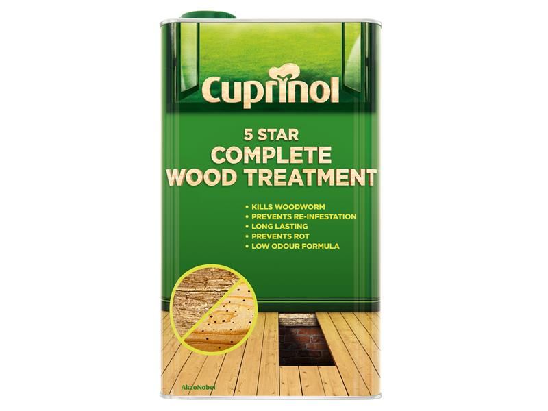 Cuprinol 5 Star Complete Wood Treatment 5 Litre CUP5ST5L