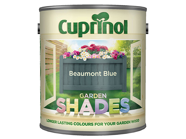 Cuprinol Garden Shades Beaumont Blue 1 litre CUPGSBMB1L