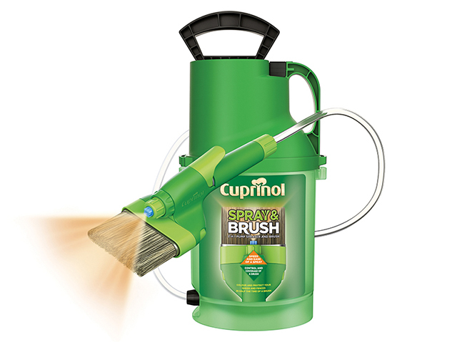 Cuprinol Spray & Brush 2 In 1 Pump Sprayer CUPMPSB