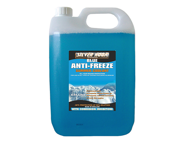 Concentrated Antifreeze - Blue 4.54 Litre